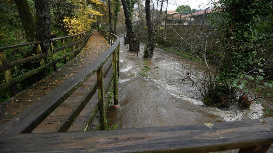 Las fuertes lluvias de diciembre desbordan el Gafos