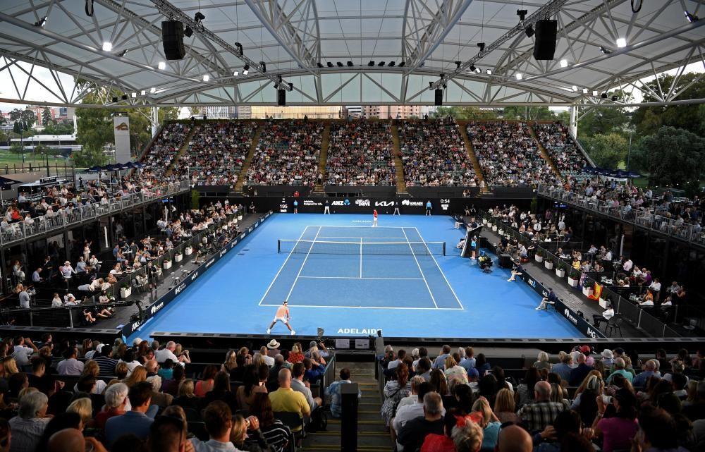 TENNIS-AUSTRALIA/EXHIBITION