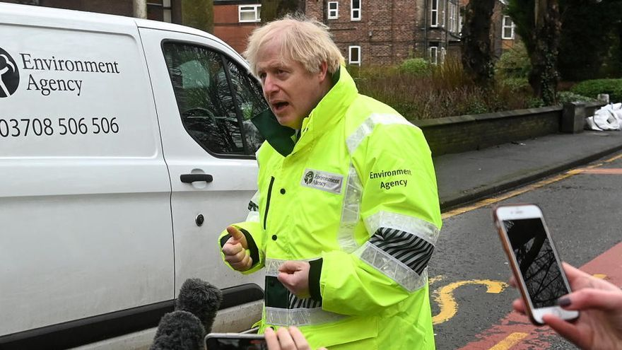 "Boris Johnson achaca a la variante británica ""un mayor nivel de mortalidad"""