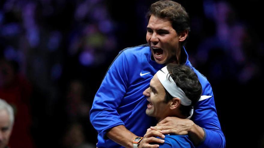 Roger Federer da la victoria a Europa en la Laver Cup