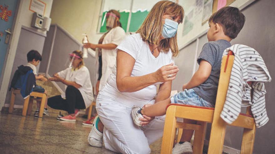 Las escuelas infantiles superan su primer mes de trabajo sin positivos