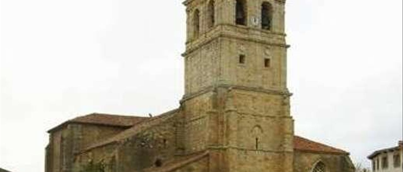 Colegiata de San Miguel.