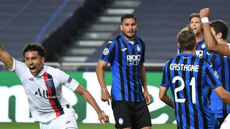 El PSG acaba con el 'cuento de hadas' europeo del Atalanta