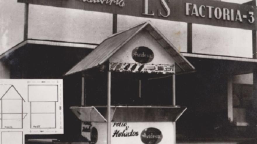 Un puesto de helados en Aldea Moret, Documento del Mes
