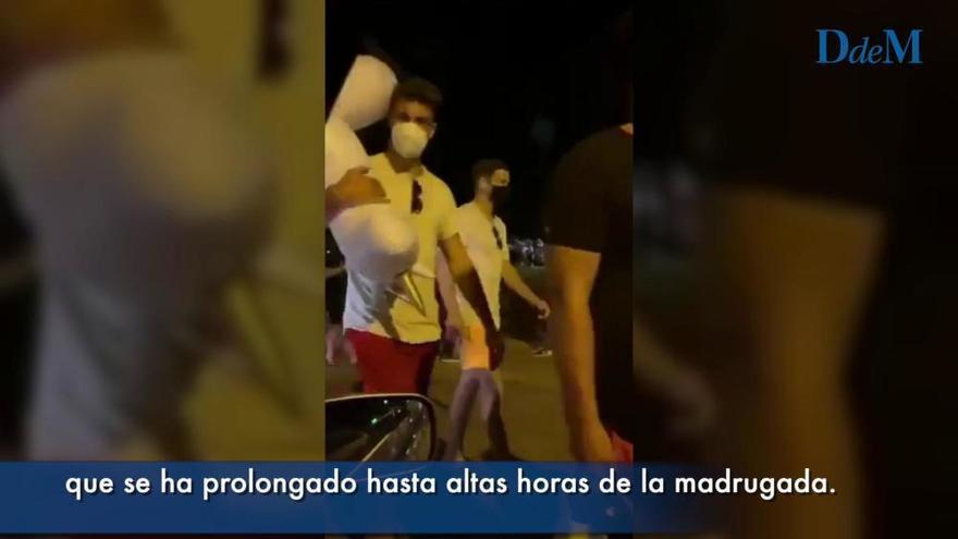 Ende der Ausgangssperre: Hunderte feierten an der Playa