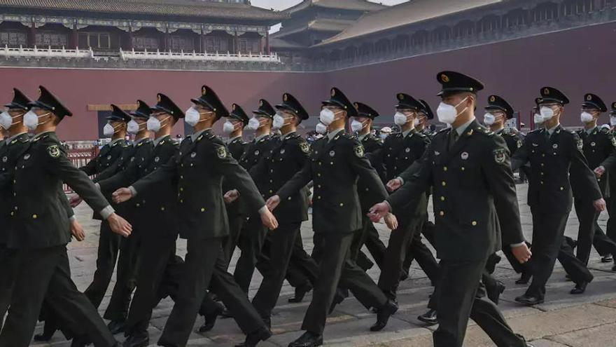Corresponsales se interesan por una periodista china detenida