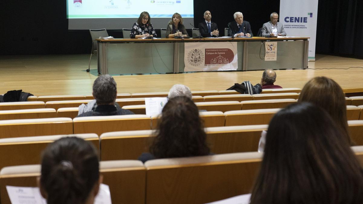 Una jornada sobre el envejecimiento celebrada en Zamora