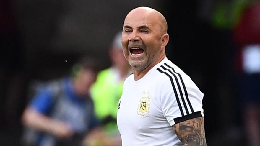 Jorge Sampaoli acuerda rescindir su contrato con la selección argentina