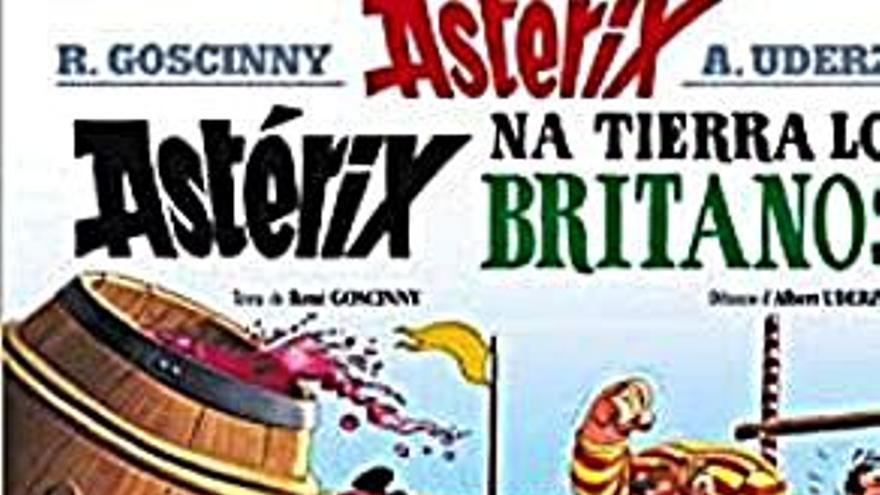 Astérix nes islles britániques
