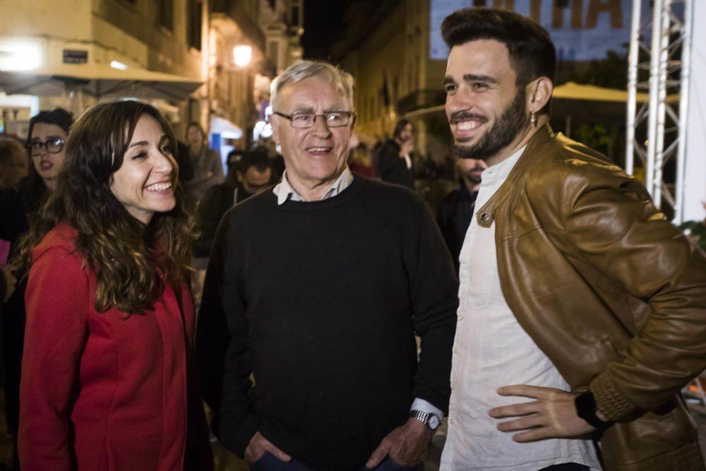 Cierre de campaña de Compromís en València