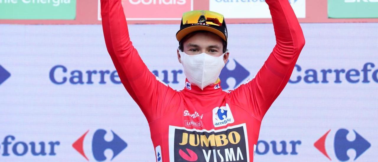 Ganador de la etapa 10 de la Vuelta: Primoz Roglic