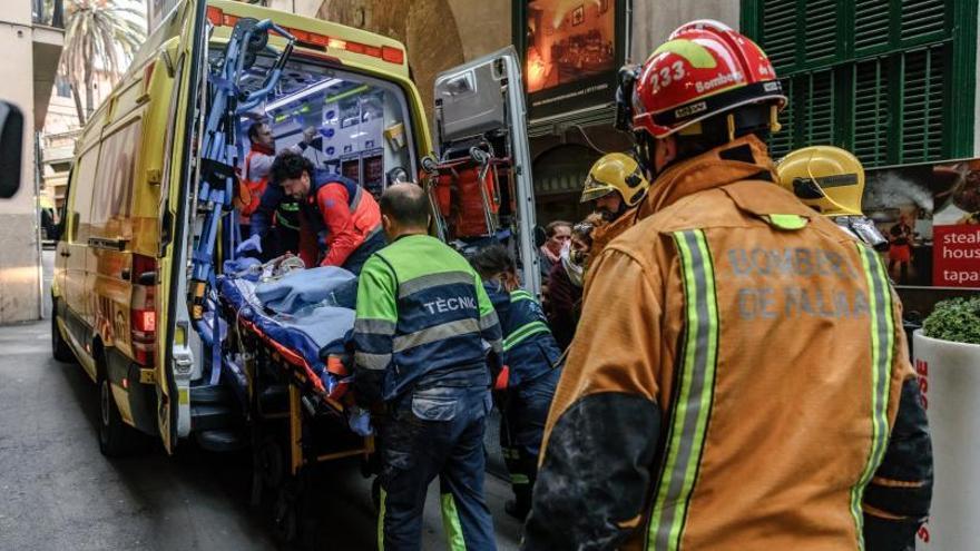 Seis acusados por la muerte de un obrero que cayó de un quinto piso en Palma