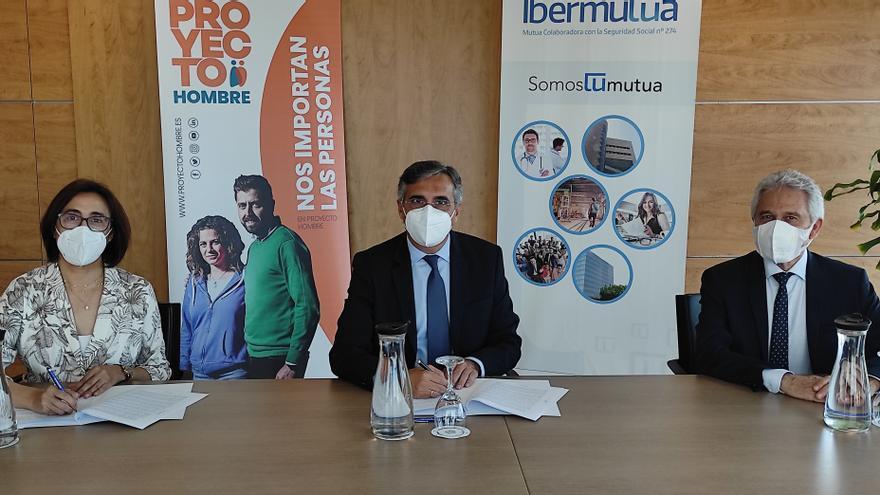 Convenio de colaboración entre Ibermutua y la Fundación Noray Proyecto Hombre Alicante