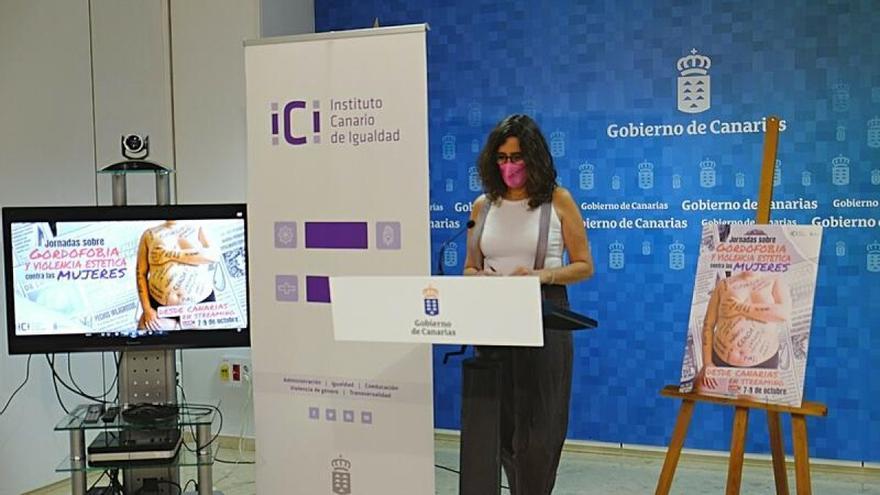 Presentación de las II Jornadas sobre violencia estética contra las mujeres