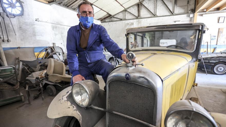 Honorino Cima: el mago de la restauración de coches está en Asturias
