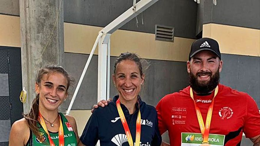 Romero repite título nacional de 800 metros lisos en Getafe