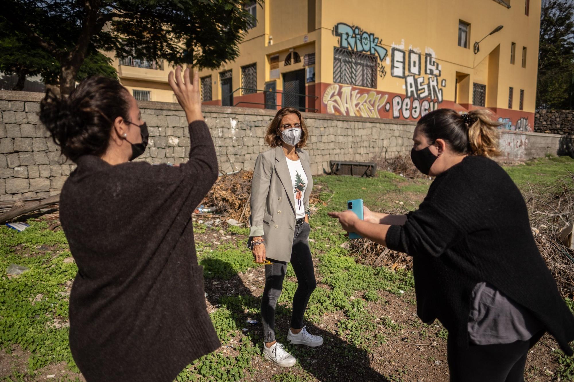 Visita al barrio de Las Cabritas