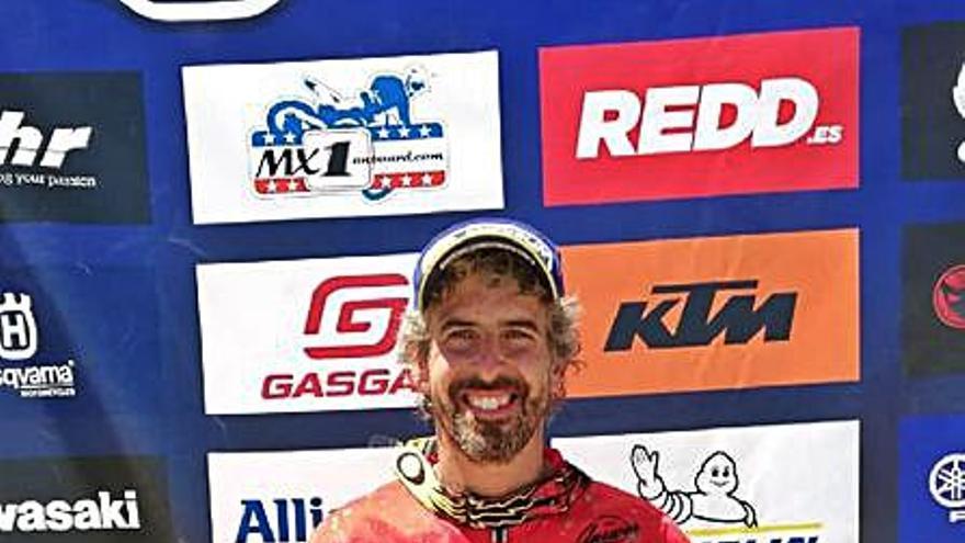 Ramon Brucart queda segon a la prova del campionat estatal MX3