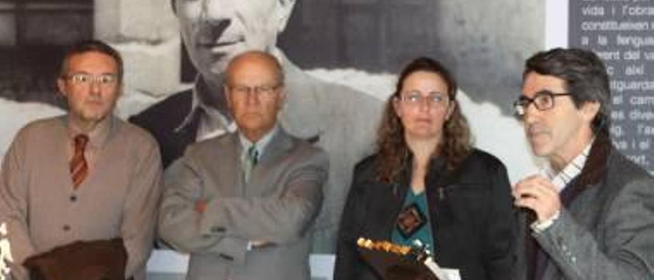 Benassal es el punto de partida para el año del escritor Carles Salvador