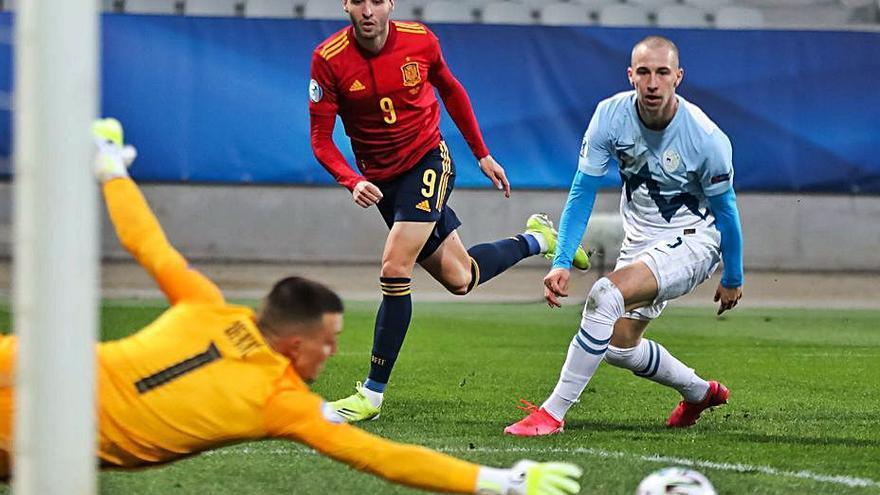 Goleada para empezar el Europeo sub-21