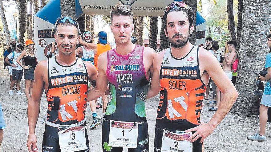 Maria Barceló se impone enel Triatló Sprint de Ciutadella
