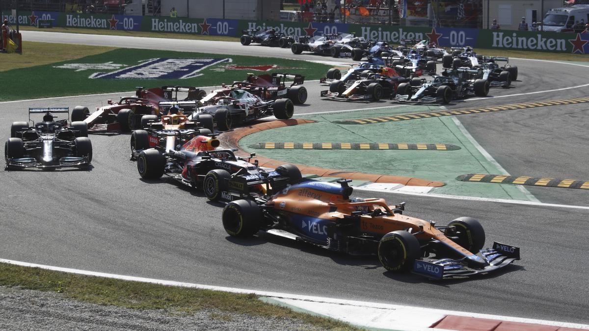 Formula 1 race.
