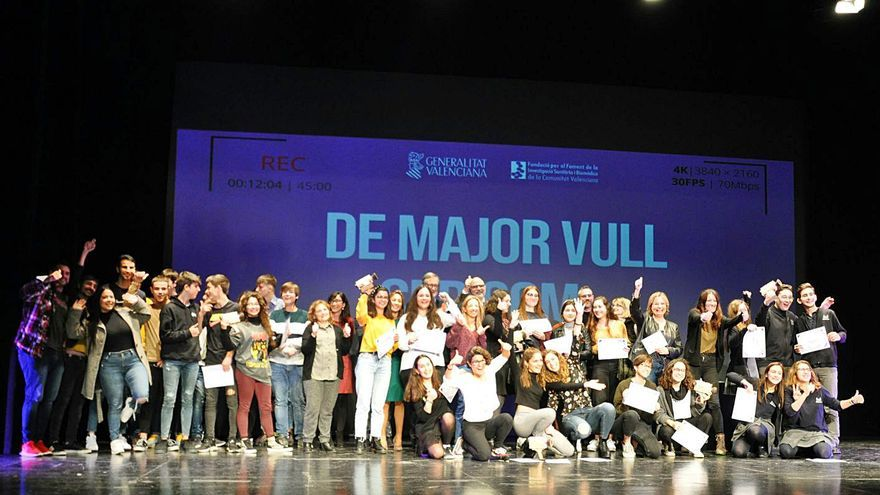 Rècord de participació a la quarta edició del concurs «De major vull ser com...»