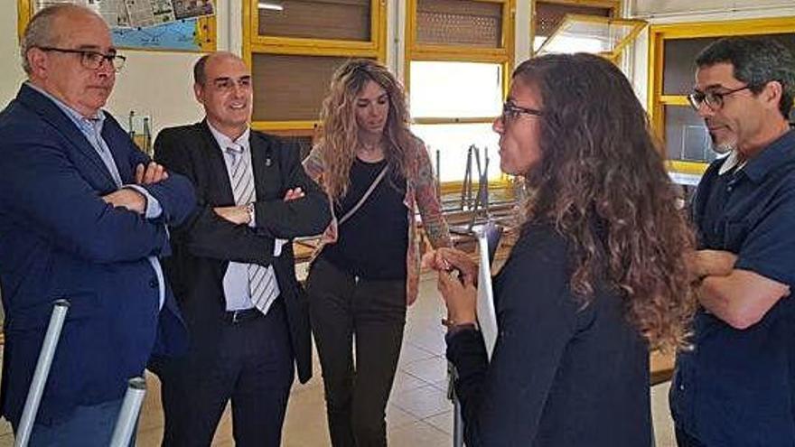 Els dos partits de govern de Sant Joan afirmen que l'acord per fer un nou edifici per a un institut és seu