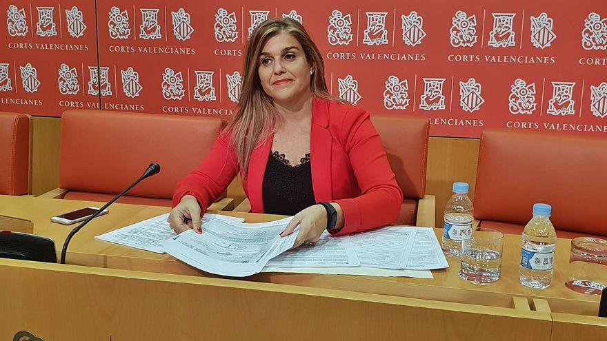 Ortiz es designada síndica del PPCV en las Cortes hasta el congreso para ungir a Mazón