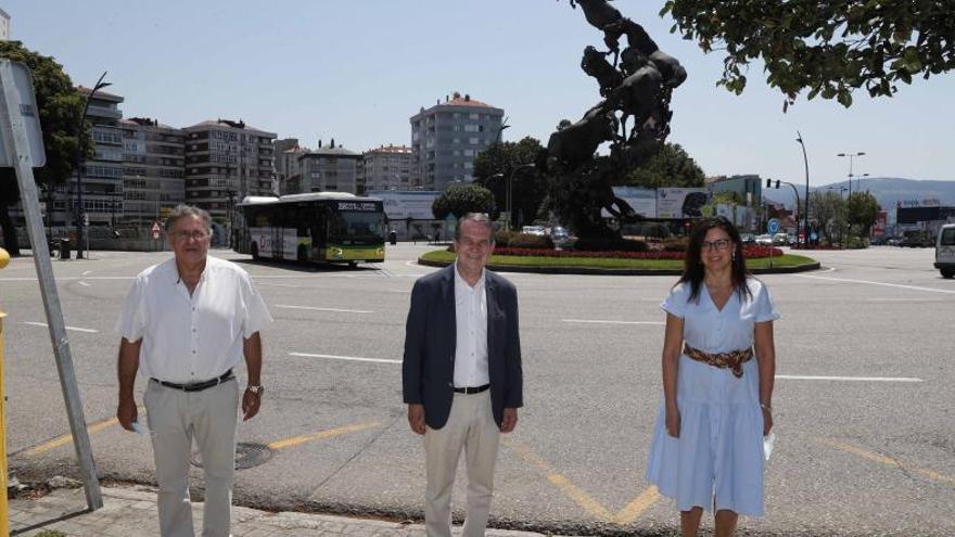 Así es la nueva Praza de España que traza el PXOM de Vigo