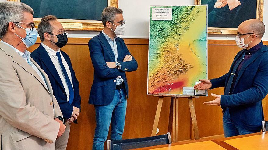 El Consell y la UA identifican las zonas rojas de terremotos en la provincia: la Vega Baja y el límite con Valencia