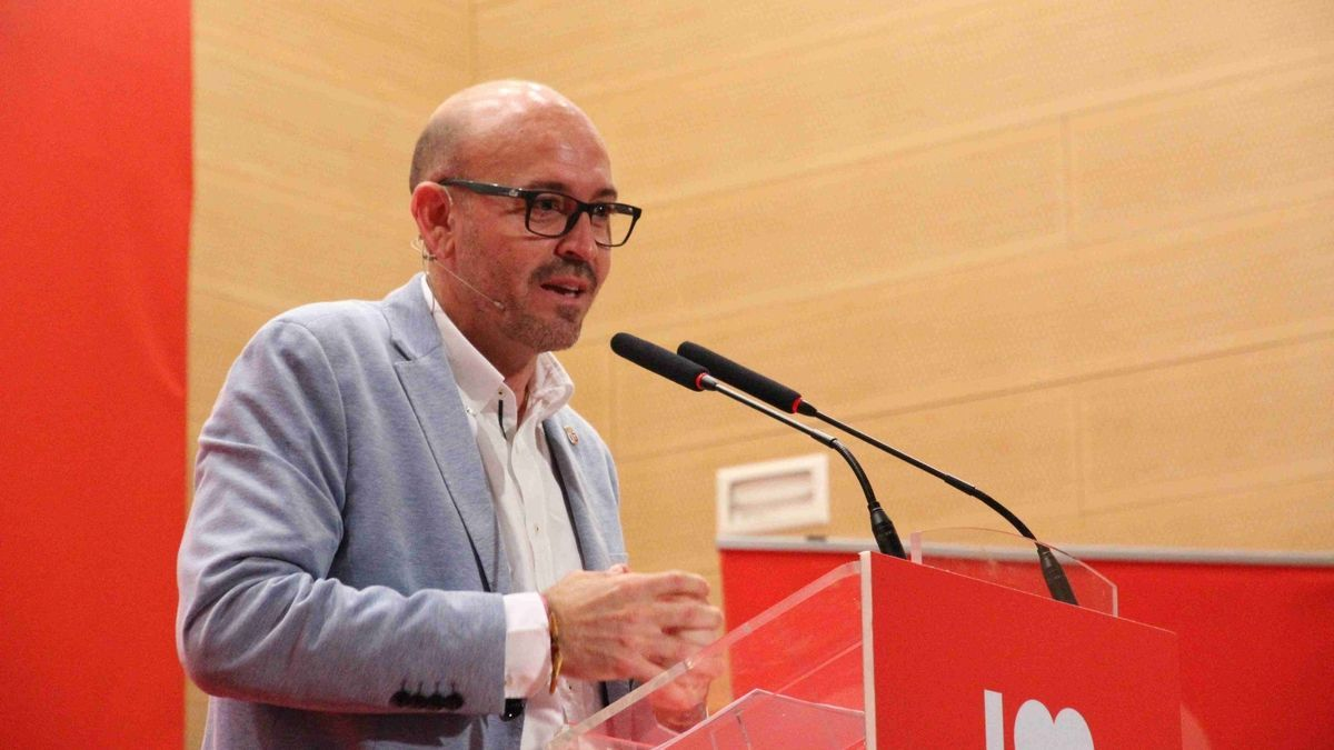 El secretario general del PSOE de Cártama y alcalde del municipio, Jorge Gallardo