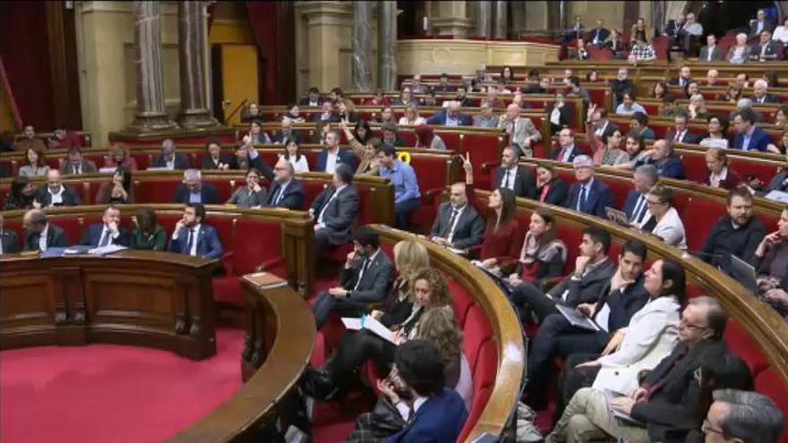 El Parlament recurrirá ante el Supremo la inhabilitación de Torra como diputado