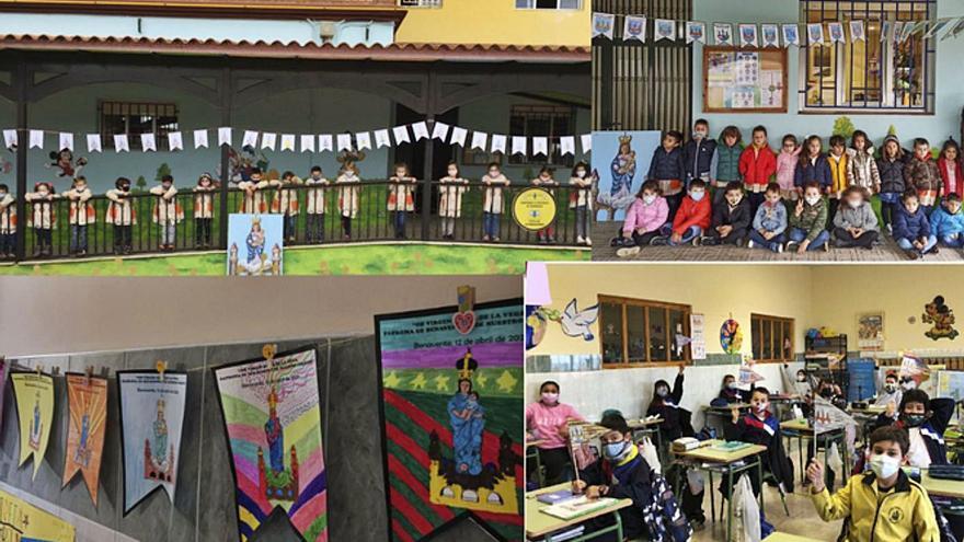Alumnos del Virgen de la Vega de Benavente celebran la patrona en las aulas