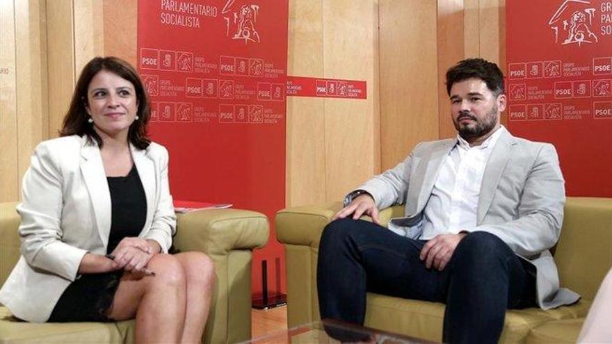 ERC constata su nueva posición de fuerza en Madrid