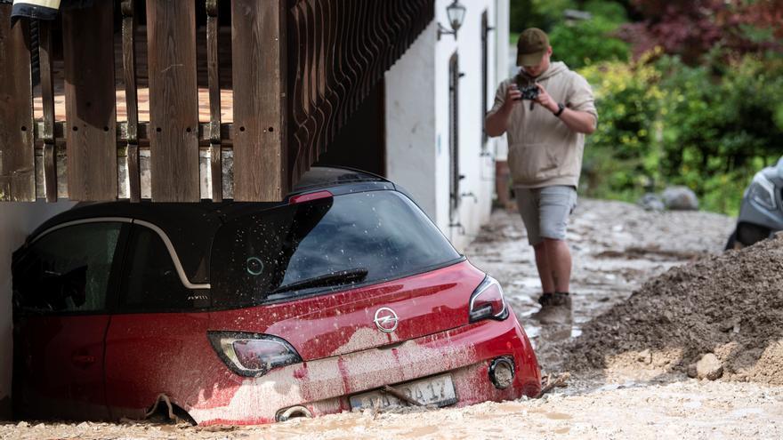 Más de 200 fallecidos por las inundaciones en Alemania y Bélgica