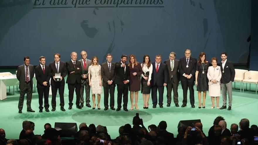 La entrega de las medallas de Andalucía rotará por provincias