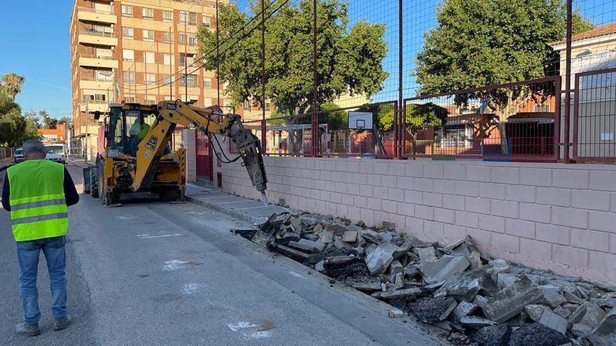 Empiezan las obras de accesibilidad en la calle Virgen de Begoña del Port