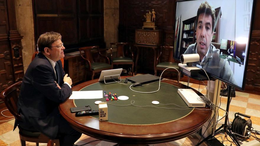 La asignatura pendiente de Puig y Mazón para este curso político