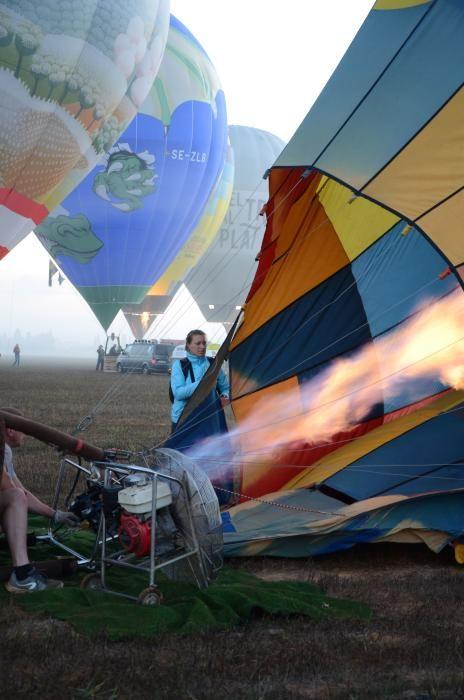 Heißluftballons über Mallorca.