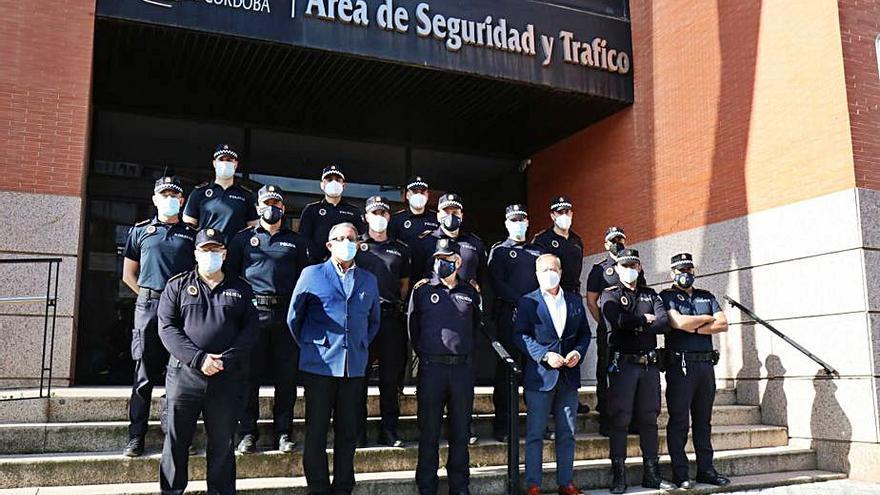 Curso de capacitación de oficiales de la Policía Local