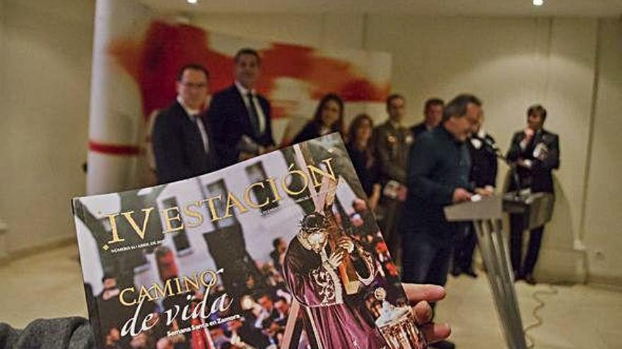 Semana Santa en Zamora | Puesta de largo de la nueva edición de IV Estación