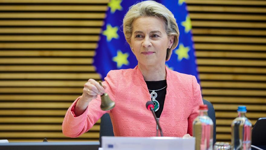 """Von der Leyen, tajante: """"La UE seguirá siendo creativa y flexible dentro del protocolo. No renegociaremos"""""""