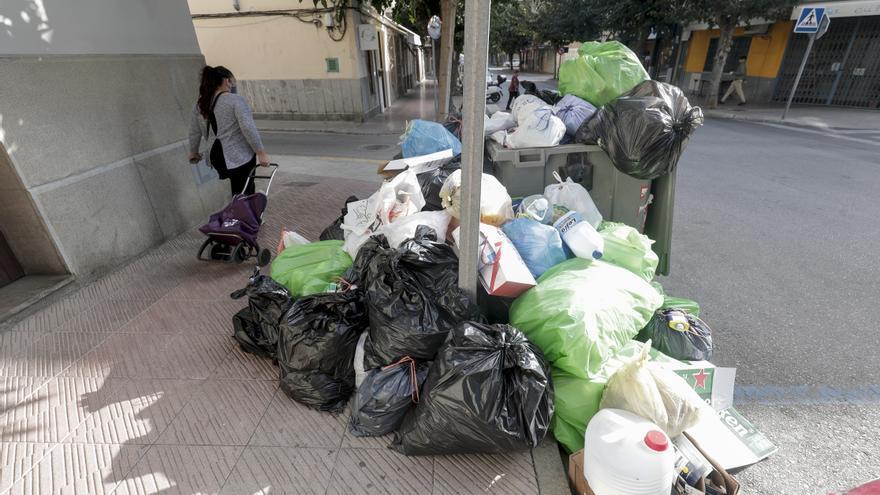 Felanitx denuncia el incumplimiento de los servicios mínimos en la huelga de basuras