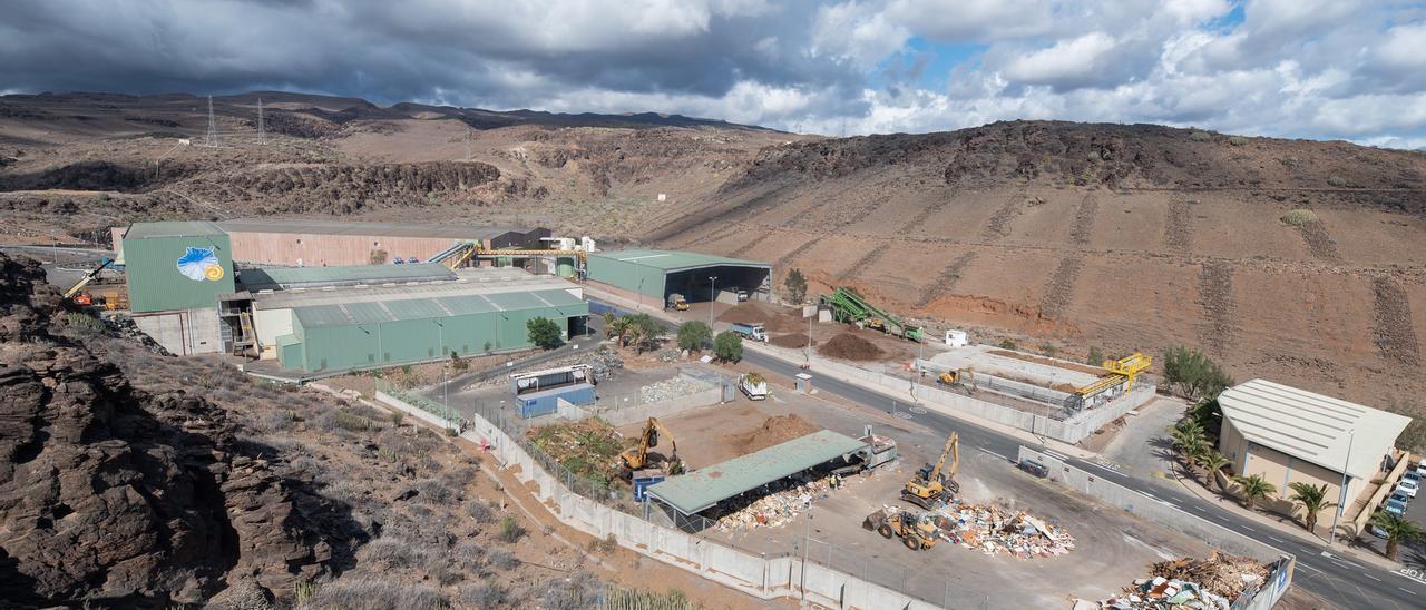 Imagen aérea del Ecoparque Sur, en Juan Grande.