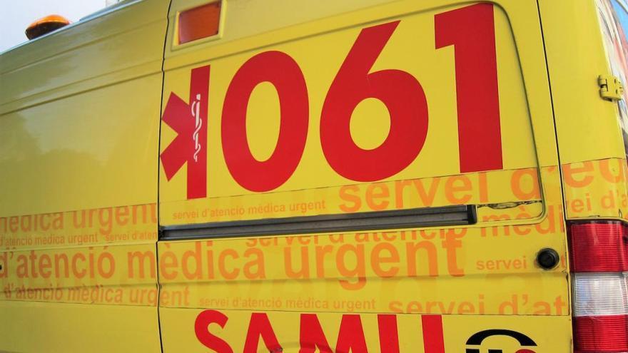 Herido un hombre de 70 años tras caer de un segundo piso en el Port de Pollença
