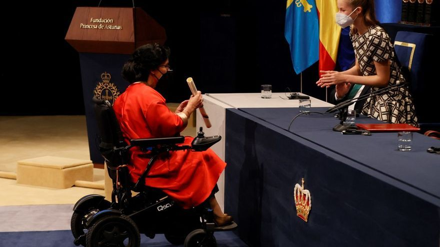 Regreso por todo lo alto al Teatro Campoamor de los Premios Princesa de Asturias
