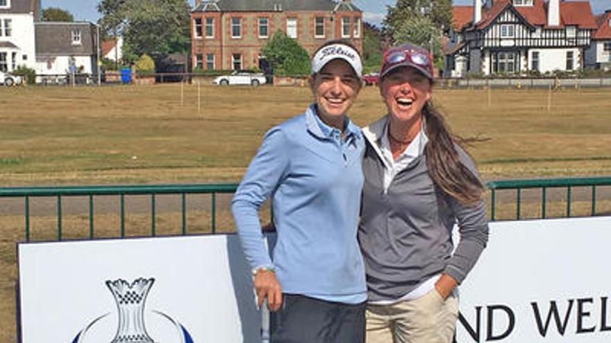 La mallorquinas Luna Sobrón y Nuria Iturrioz disputarán el British Open