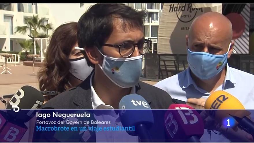 Negueruela señala a la Policía Local de Llucmajor por haber permitido las situaciones que provocaron el macrobrote en Mallorca