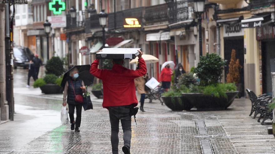 Aemet avisa de fuertes lluvias en las próximas horas en Ávila y Salamanca